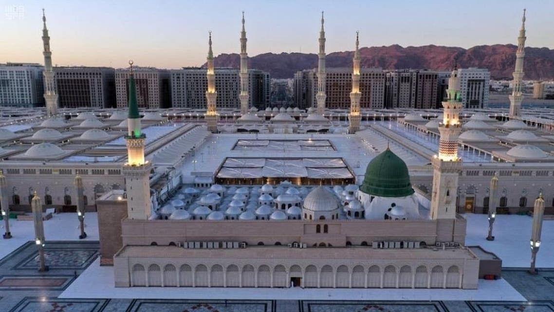 مسجد نبوی میں ماہ صیام کے دوران نماز تراویح کی ادائیگی  کے لیے پلان تیار