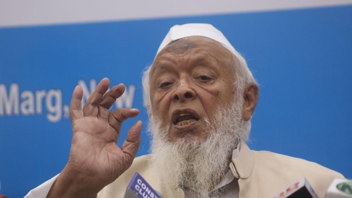 مولانا ارشد مدنی، تصویر آئی اے این ایس