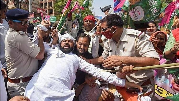 بھارت بند: بی جے پی حکمراں ریاستوں میں کسان لیڈروں کی گرفتاری، کسان سنیوکت مورچہ برہم