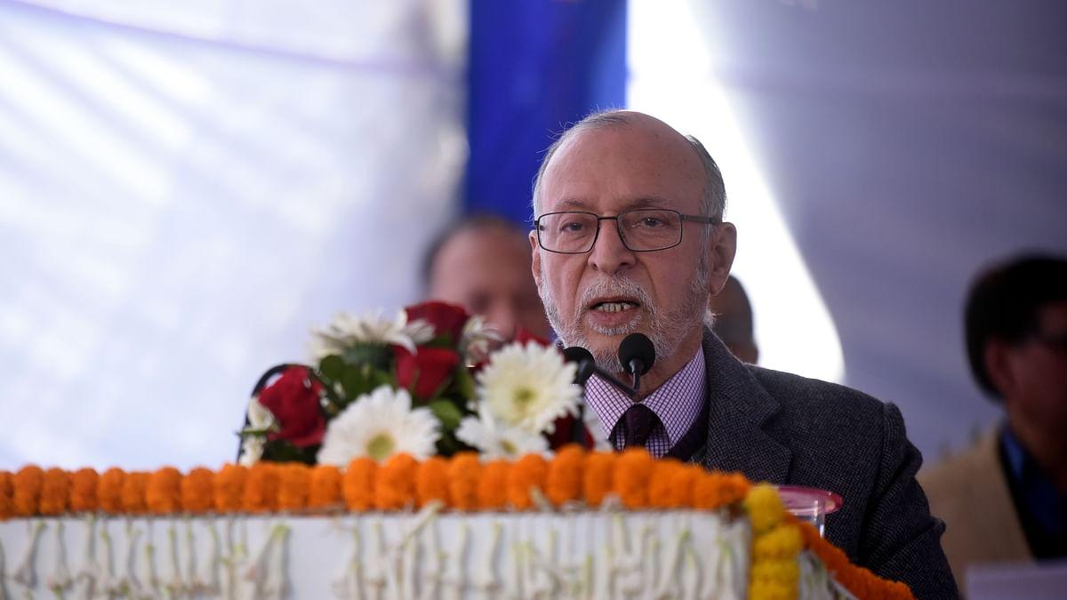 دہلی کے لیفٹیننٹ گورنر انل بیجل کورونا پازیٹو
