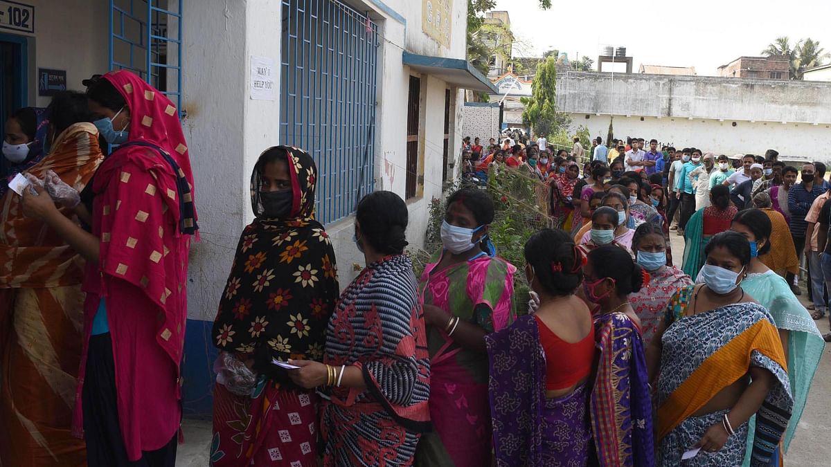 بنگال میں چوتھے مرحلے کی ووٹنگ شروع