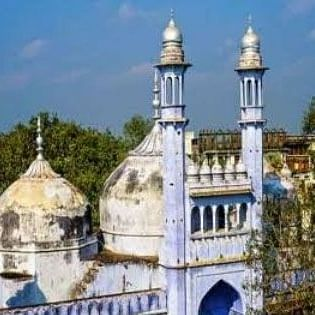 وارانسی کی گیان واپی مسجد/ تصویر آئی اے این ایس