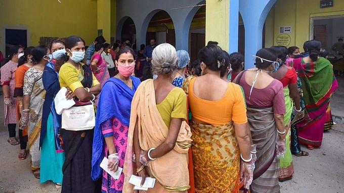 پنچایت انتخابات / تصویر آئی اے این ایس