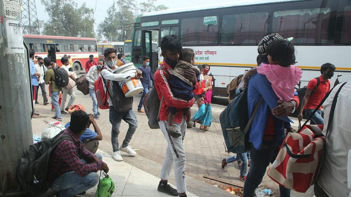 لاک ڈاؤن کے بعد راجدھانی دہلی کے بازاروں میں ویرانی، مزدوروں کی بڑے پیمانے پر نقل مکانی