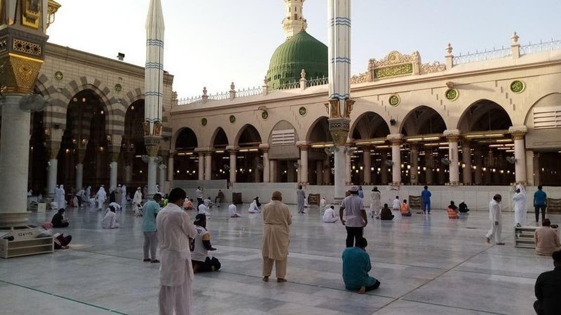 رمضان المبارک: مسجد نبویؐ میں نماز کی جگہ ڈیجیٹل نقشے کی مدد سے تلاش کرنے کی سہولت