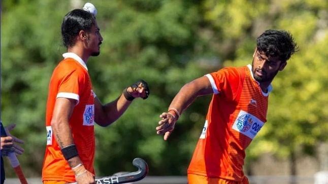 ہاکی: ہندوستان نے اولمپک چیمپین ارجنٹائنا کو شوٹ آؤٹ میں 3-2 سے شکست دی