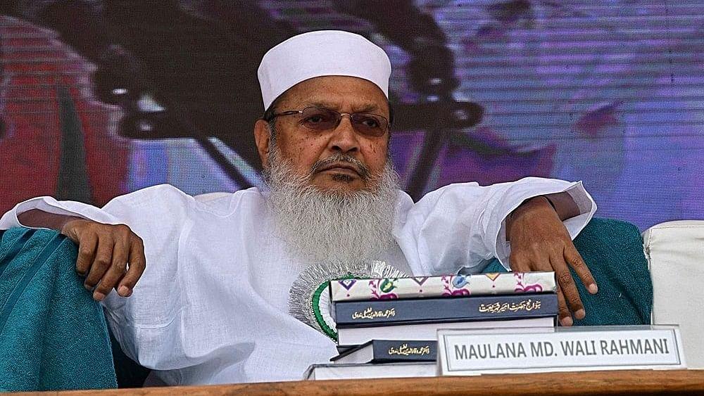 مولانا محمد ولی رحمانی / تصویر آئی اے این ایس
