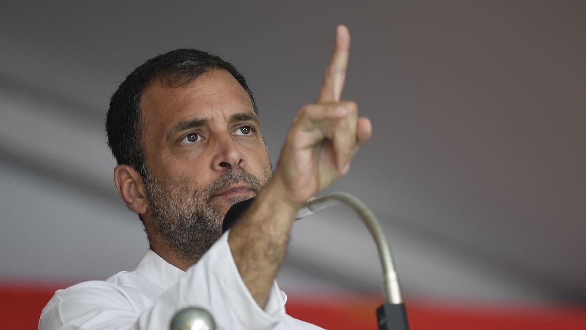 گھمنڈی حکومت کو اچھے مشوروں سے الرجی ہے: راہل گاندھی