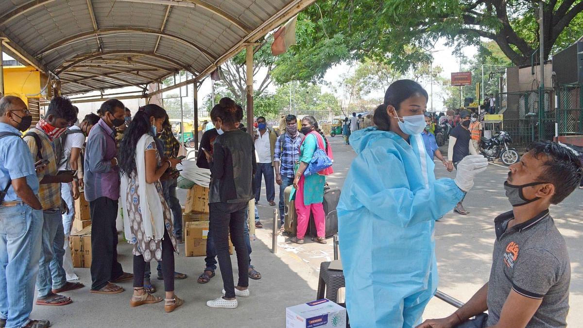 ہندوستان میں کورونا کے 44 ہزار سے زائد نئے کیسز، فعال معاملوں کی تعداد 4 لاکھ سے تجاوز