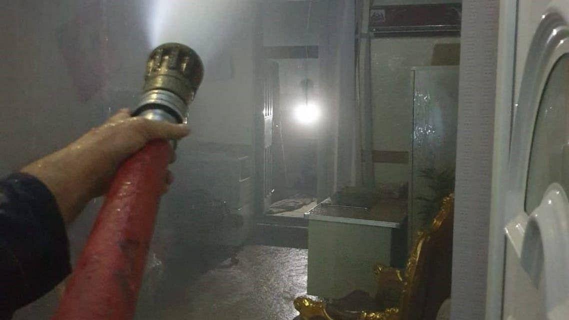 عراق میں کووڈ اسپتال میں آتشزدگی سے 28 مریضوں کی موت، 50 زخمی، اسپتال کا سربراہ زیر حراست