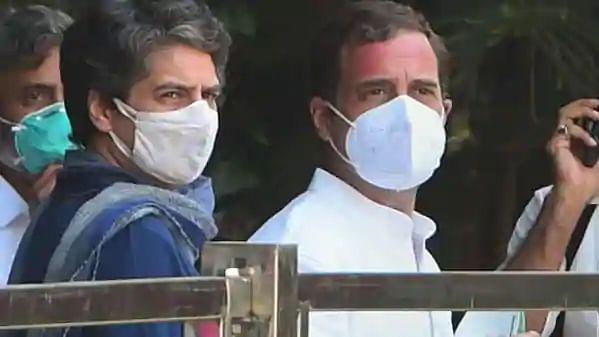 راہل گاندھی نے ویکسین کی کمی اورپرینکا نے امتحان کے حوالہ سے حکومت کو گھیرا