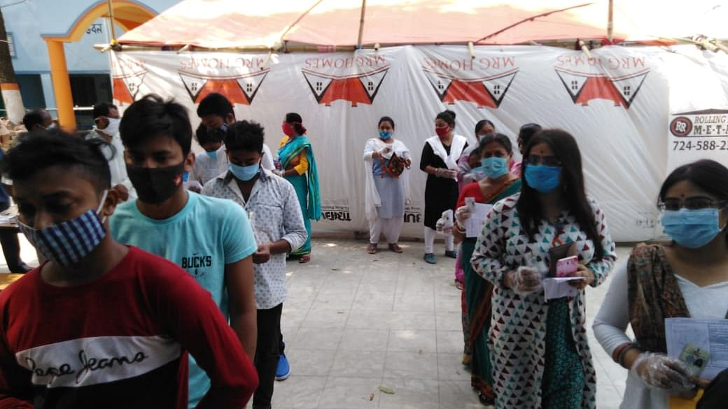 بنگال انتخابات: چھٹے مرحلہ کے تحت 43 سیٹوں پر پولنگ جاری، 306 امیدوار میدان میں