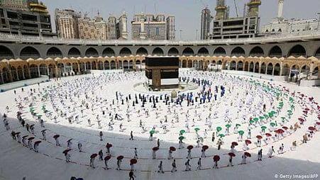 رمضان کے پہلےعشرے میں قریباً 15 لاکھ عبادت گزار مسجدالحرام پہنچے