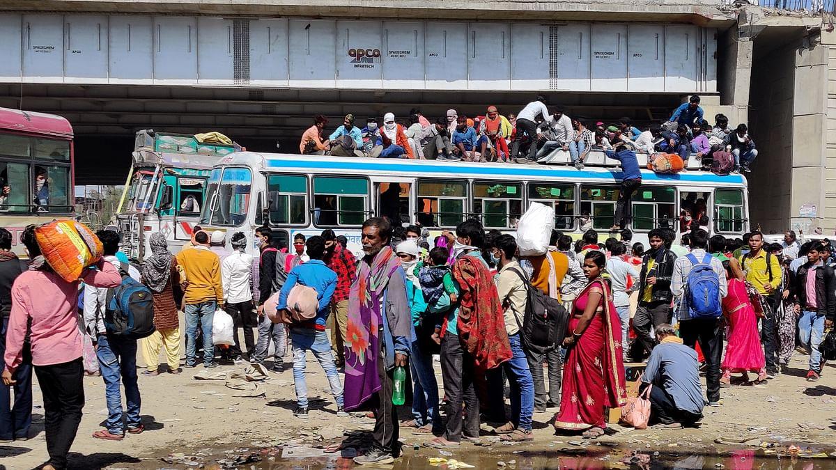 لاک ڈاؤن کا اندیشہ! دہلی سمیت کئی شہروں سے مہاجر مزدوروں کی وطن واپسی شروع