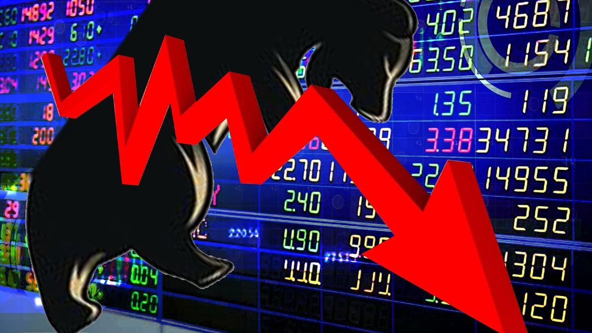 ایگزٹ پول کے نتائج سے شیئر بازار میں مایوسی، سنسیکس 984 پوائنٹ گر کر ہوا بند