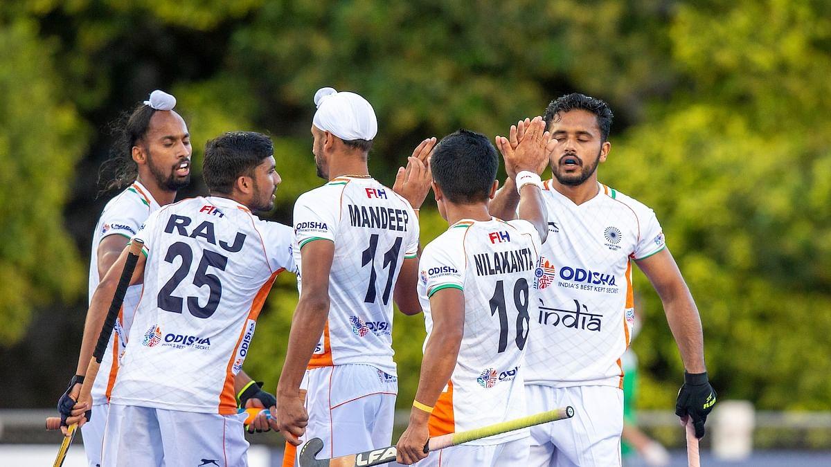 ہاکی: ہندوستان کی اولمپک چیمپئن ارجنٹینا پر 3-0 سے اثر انگیز جیت