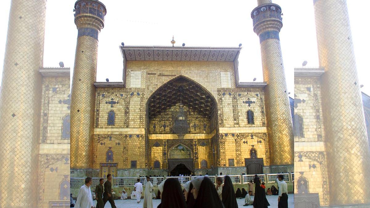 روزہ امام علیؑ نجف عراق / Getty Images