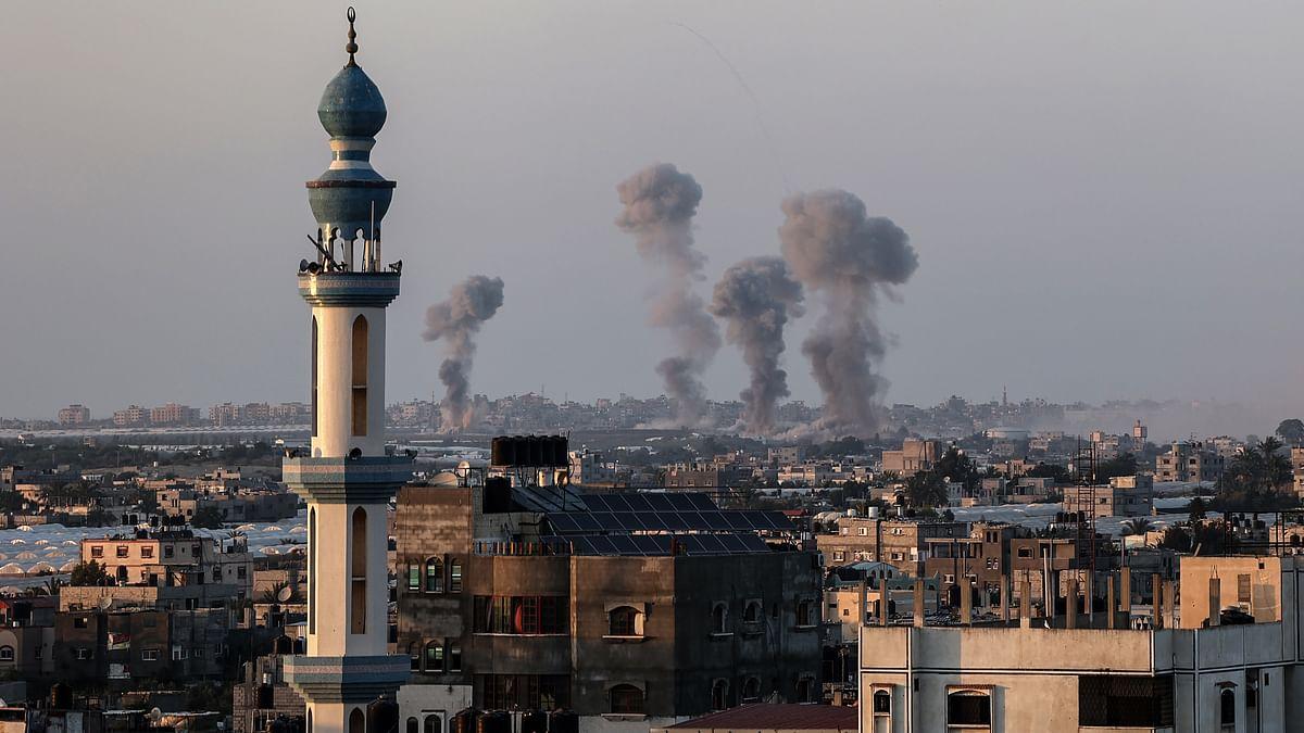 فلسطین میں اسرائیلی جارحیت / Getty Images