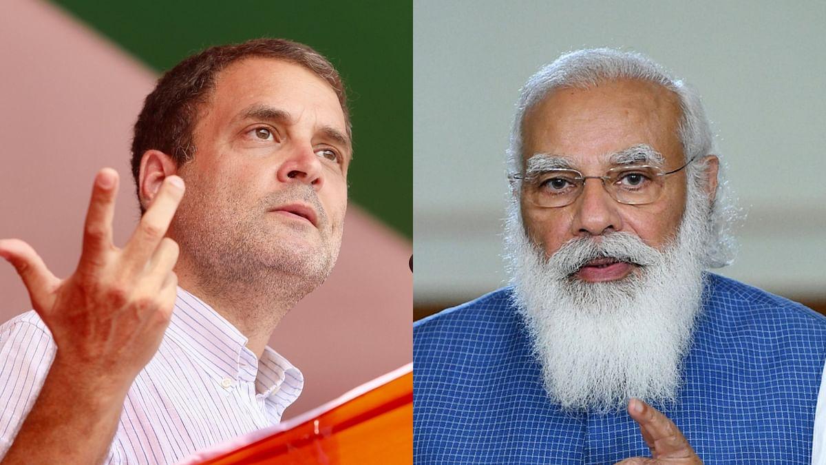 راہل گاندھی نے پی ایم مودی کو 'گلابی چشمہ' اتارنے کا دیا مشورہ