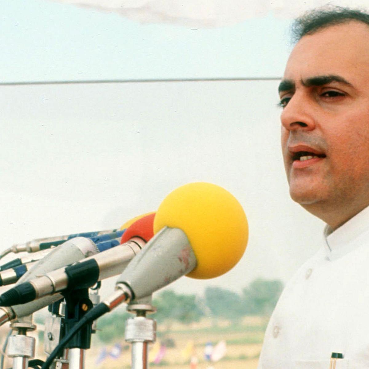 سابق وزیر اعظم راجیو گاندھی / Getty Images