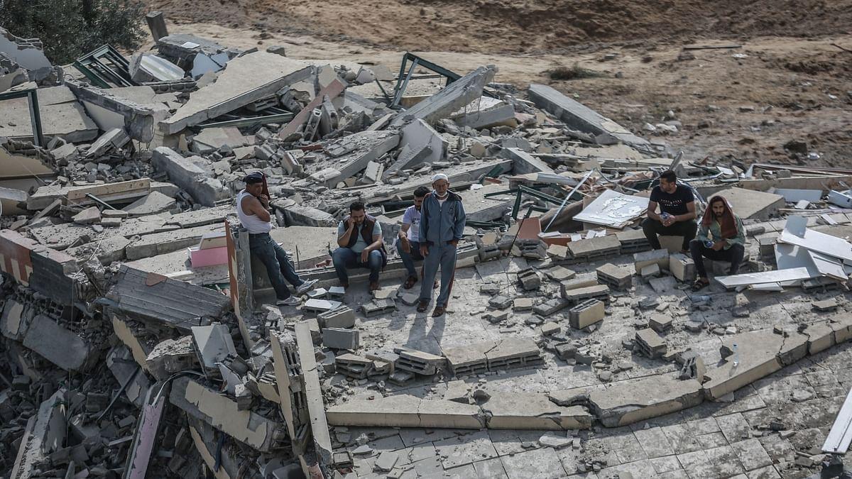 تباہ حال غزہ پٹی کی تعمیر نو کے لئے تخمینہ شروع، عالمی بینک، یورپی یونین اور بعض عرب ممالک کے آگے آنے کی امید
