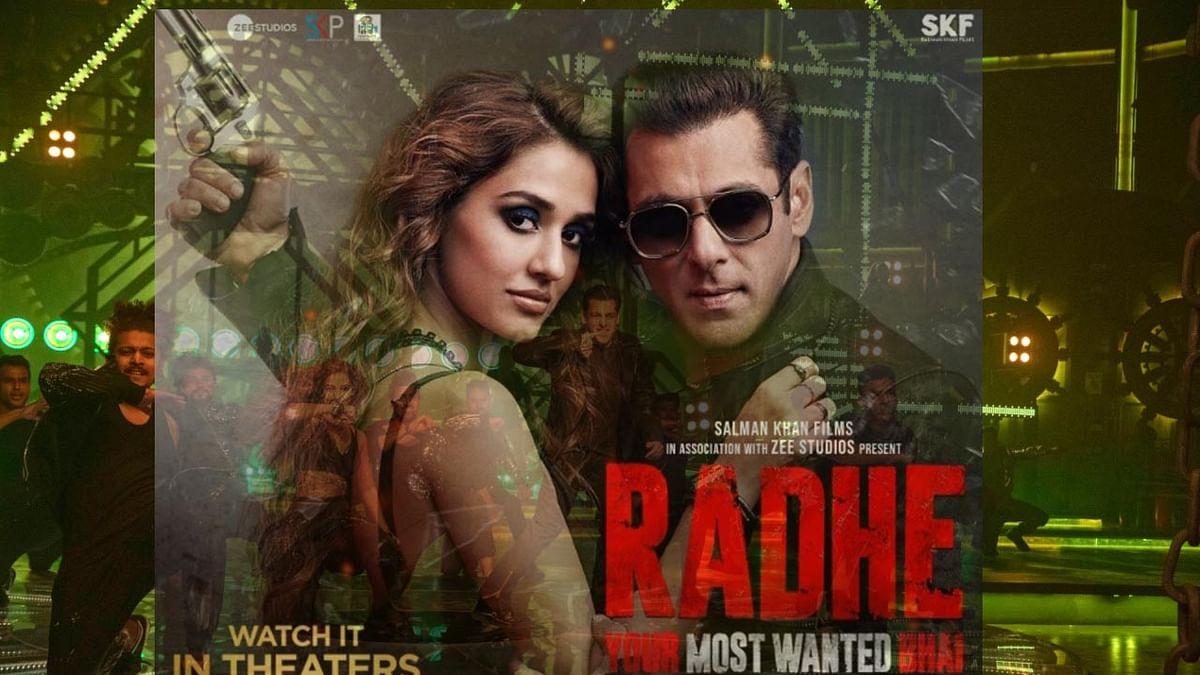 سلمان خان کی 'رادھے' نے قائم کیے کئی ریکارڈ، 4.2 ملین ویوز کے ساتھ سب سے زیادہ دیکھی جانے والی فلم