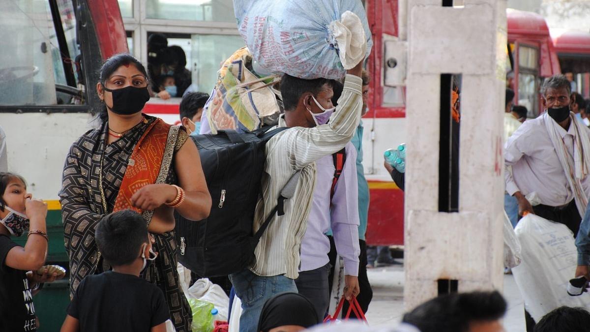لاک ڈاؤن کا اثر، یو پی بہار کے مزدوروں کی راجستھان سے نقل مکانی شروع