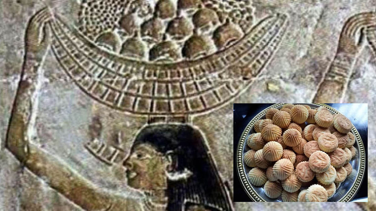 مصر کا مشہور 'عید کیک' جس کی تاریخ فراعنہ سے جا ملتی ہے