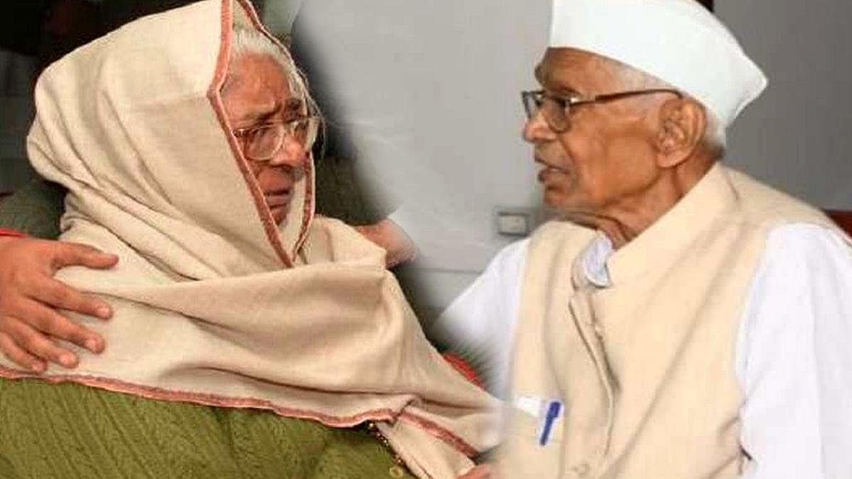 راجستھان کے سابق وزیر اعلیٰ جگن ناتھ پہاڑیا کے بعد ان کی اہلیہ شانتی پہاڑیا کا بھی انتقال