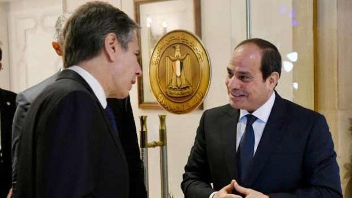 مصر کے ساتھ ملکر فلسطینیوں اور اسرائیلیوں کے تحفظ کو یقینی بنانا چاہتے ہیں: امریکہ وزیر خارجہ