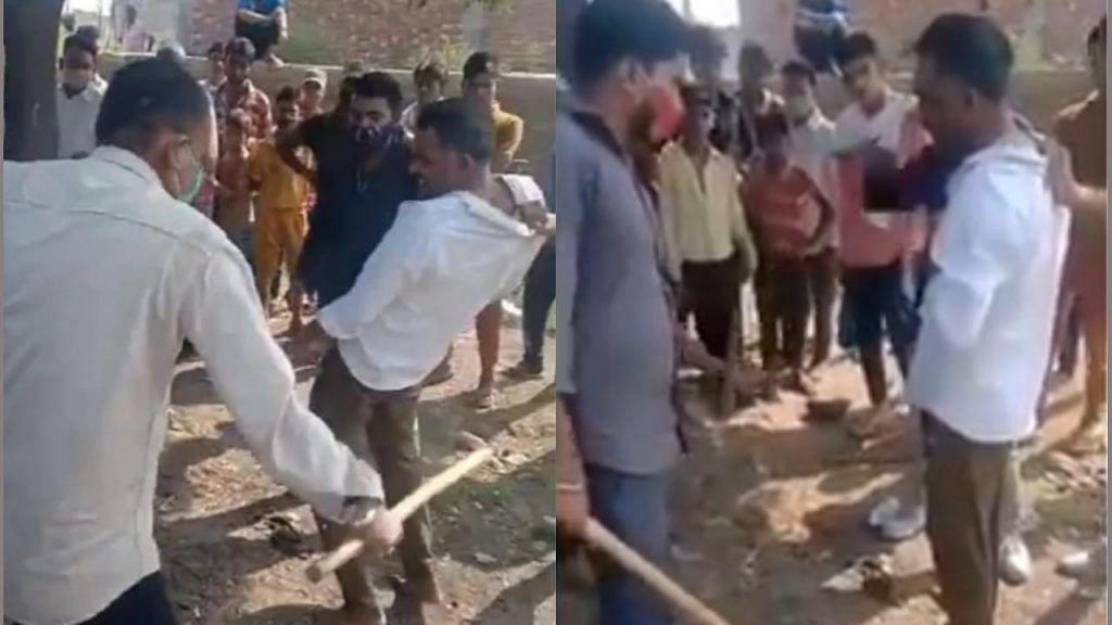 گئو رکشکوں نے رسید ہونے کے باوجود محمد شاکر کی بے رحمی سے کی پٹائی، دیکھیں ویڈیو