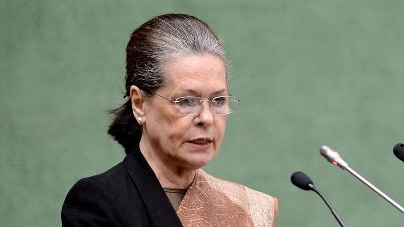سونیا گاندھی، تصویر آئی اے این ایس