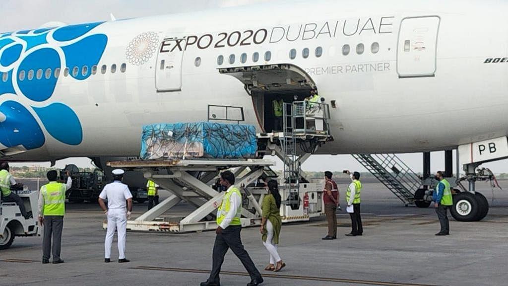 روس سے اسپوتنک وی ویکسین خصوصی طیارہ کے ذریعہ حیدرآباد پہنچ گئی