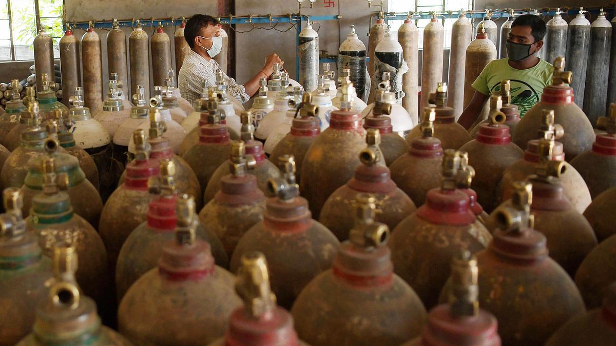 یوپی میں 24 گھنٹے میں ریکارڈ 994 میٹرک ٹن آکسیجن کی فراہمی