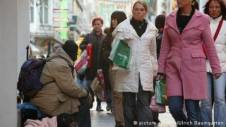 جرمنی میں امیر  شہری امیر تر اور غریب غریب تر ہوتے ہوئے، نئی رپورٹ