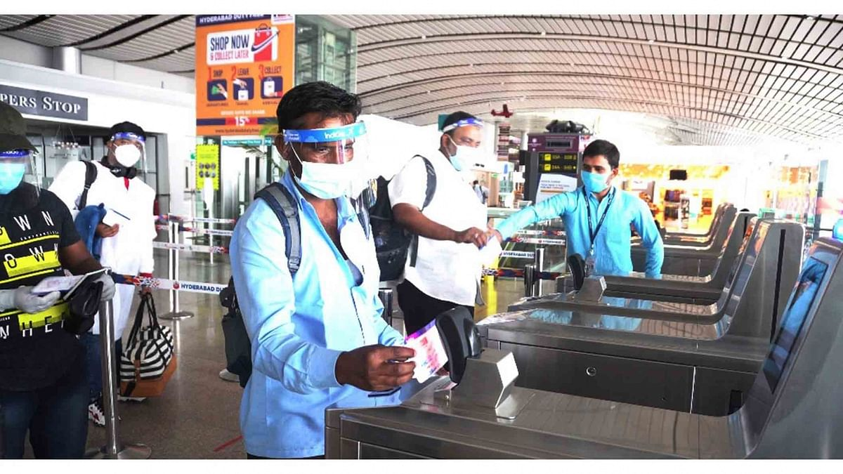 انفیکشن کی رفتار سست پڑنے کے ساتھ ہی ہوائی مسافروں کی تعداد میں اضافہ