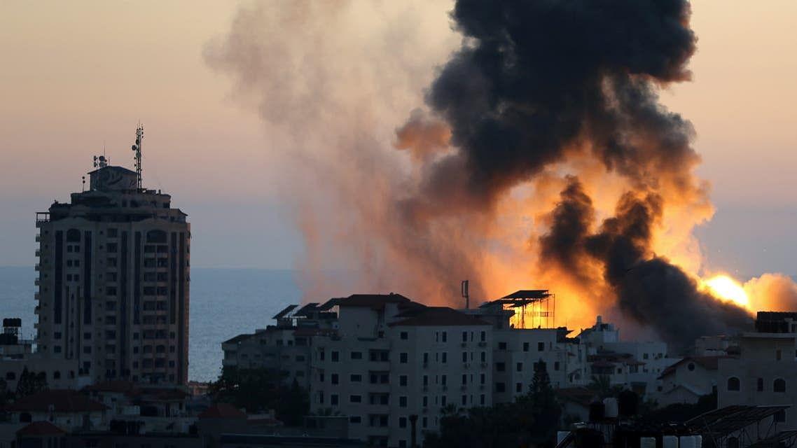اسرائیل کا غزہ میں ایک تین منزلہ عمارت پر فضائی حملہ، ایک ہی خاندان کے 8 بچے اور 2 خواتین شہید