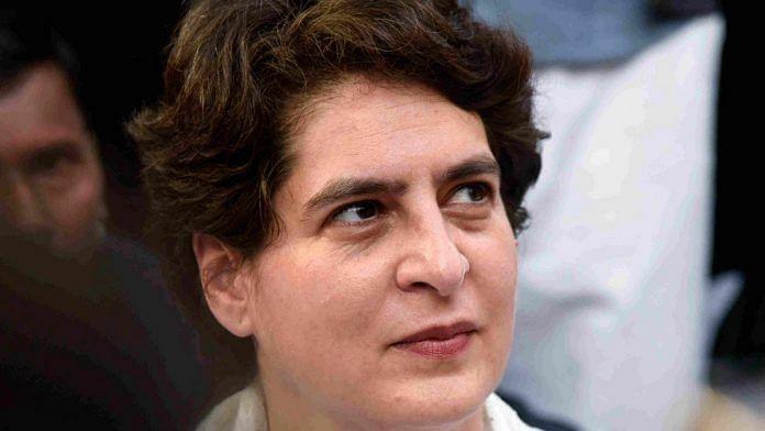 یوگی حکومت آگرہ ماک ڈریل کی حقیقت سامنے لائے: پرینکا گاندھی