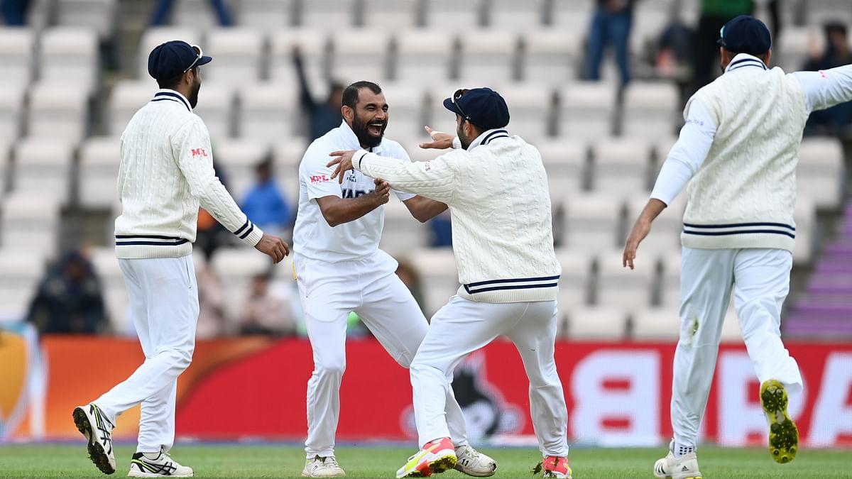 عالمی ٹیسٹ چیمپئن شپ فائنل: محمد سمیع کی شاندار گیندبازی، انڈیا کی میچ میں واپسی، فیصلہ چھٹے دن ہوگا