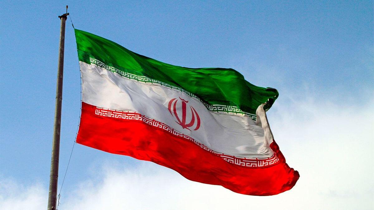 ایرانی پرچم کی فائل تصویرآئی اے این ایس