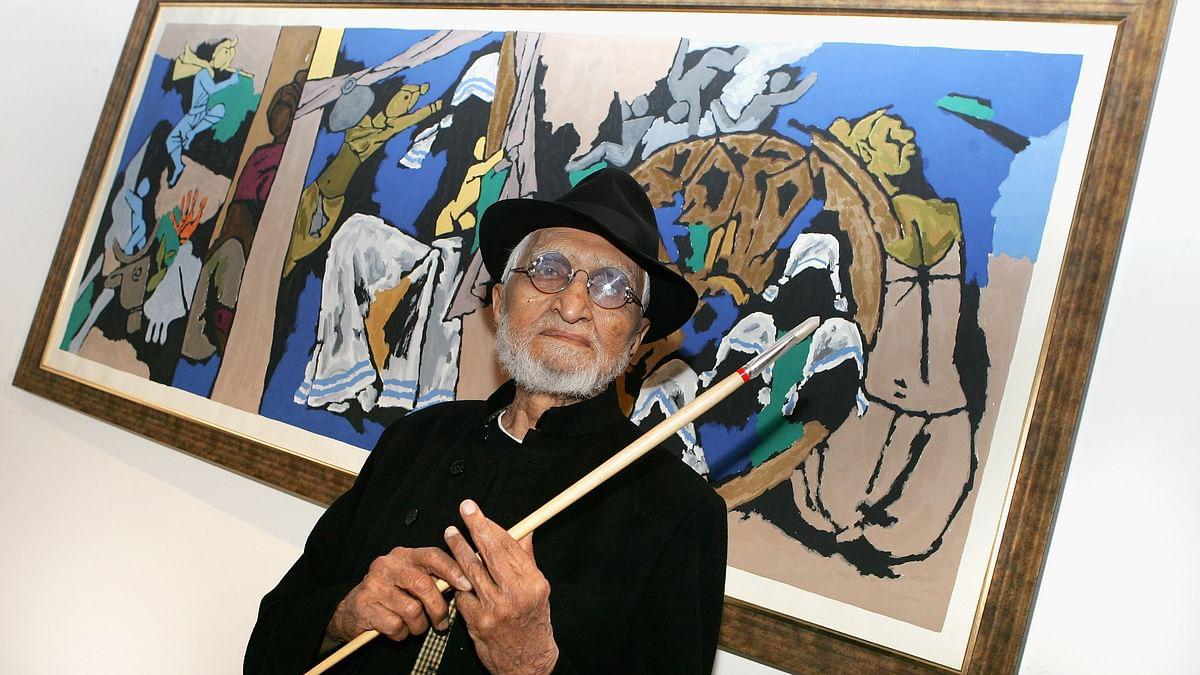 ایم ایف حسین، جنہیں قدرت نے برش و رنگوں کے ذریعے شاہکار تراشنے کا فن عطا کیا