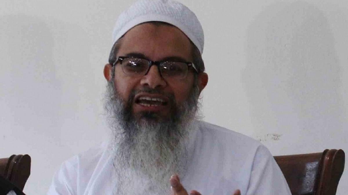 مولانا محمود اسعد مدنی، تصویر آئی اے این ایس