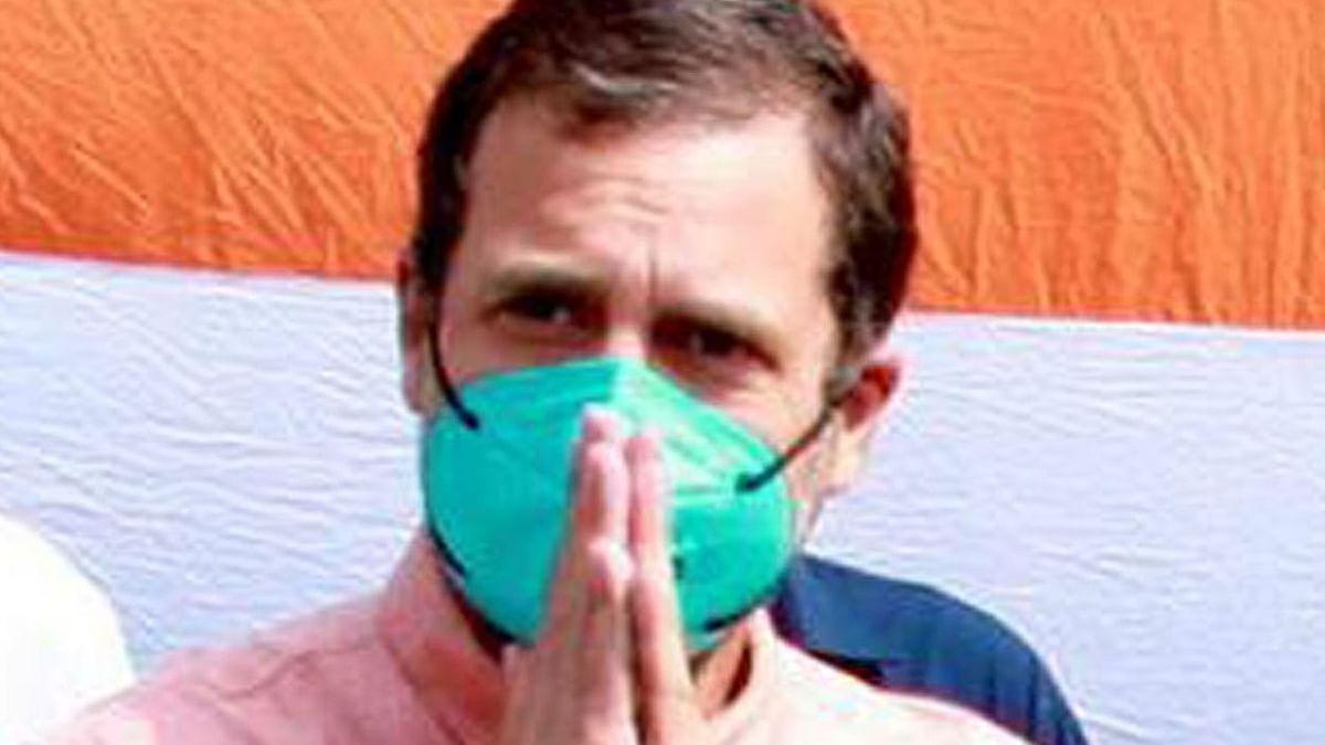 راہل گاندھی، تصویر یو این آئی