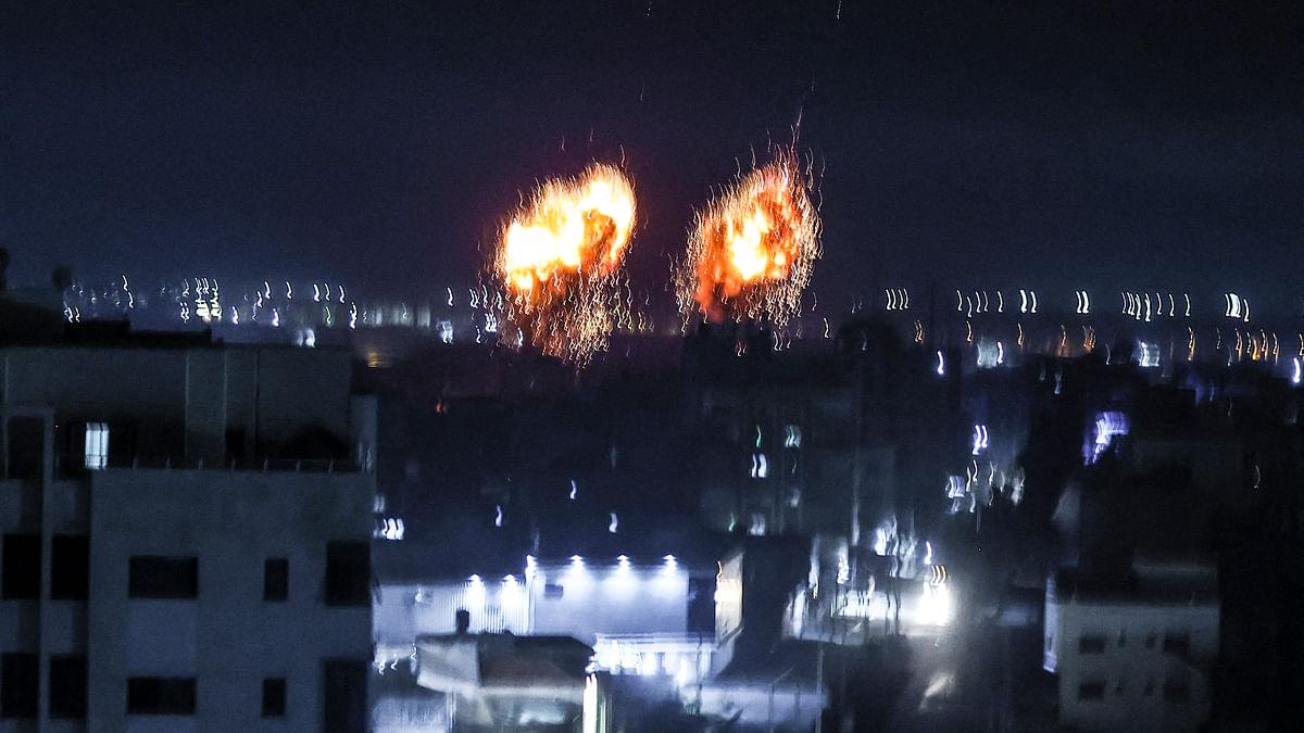 غزہ کی پٹی: حماس کے عسکری اور تربیتی مراکز پر اسرائیل کے حملے