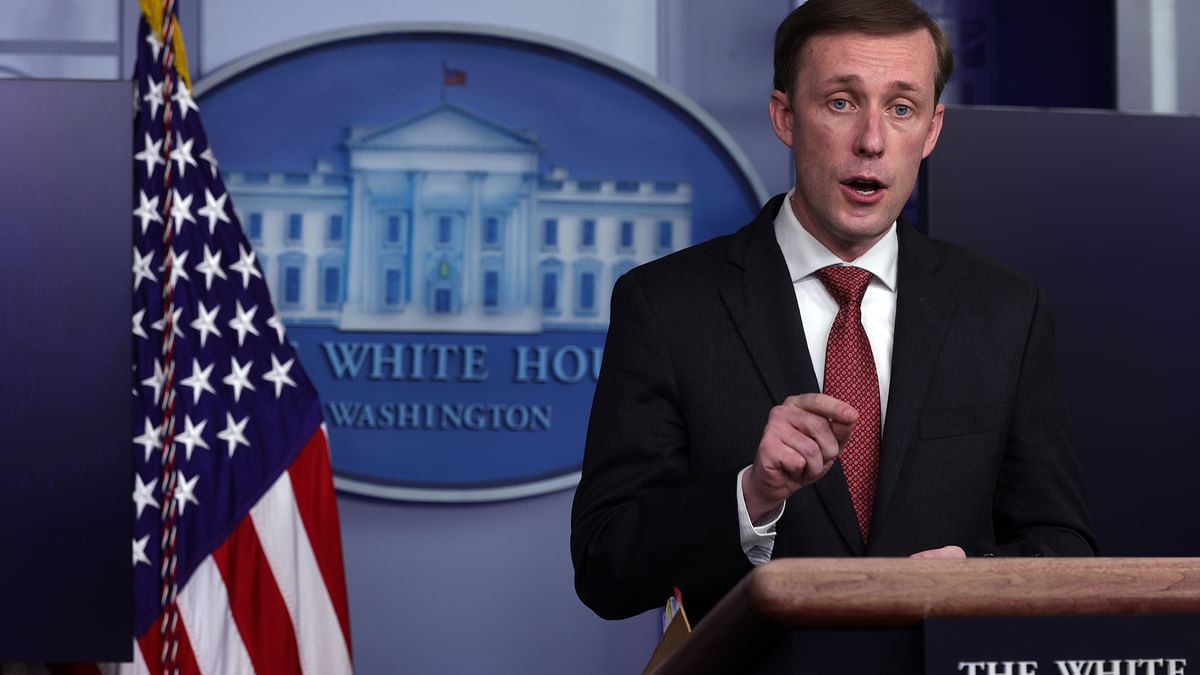امریکہ کے قومی سلامتی کے مشیر جیک سولیوان Getty Images