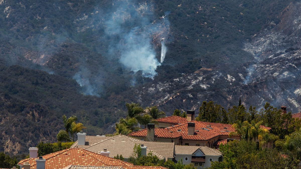 امریکہ کے جنگلات میں آگ / Getty Images