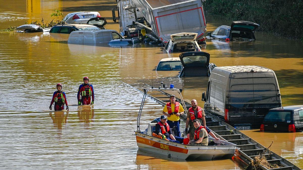 جرمنی کو تاریخ کے بدترین سیلاب کا سامنا، ہلاک شدگان کی تعداد 150 سے تجاوز، 1000 لاپتہ