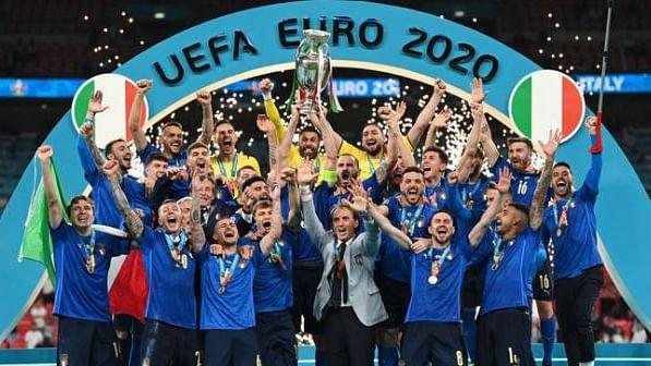 سوشل میڈیا تصویر بشکریہ اٹلی فٹبال ٹیم ٹویٹر اکاؤنٹ