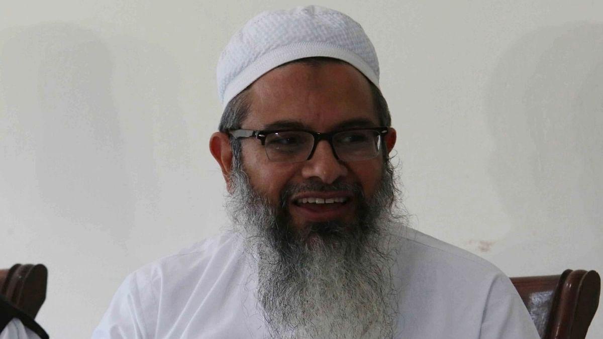 مولانا محمود مدنی، تصویر آئی اے این ایس