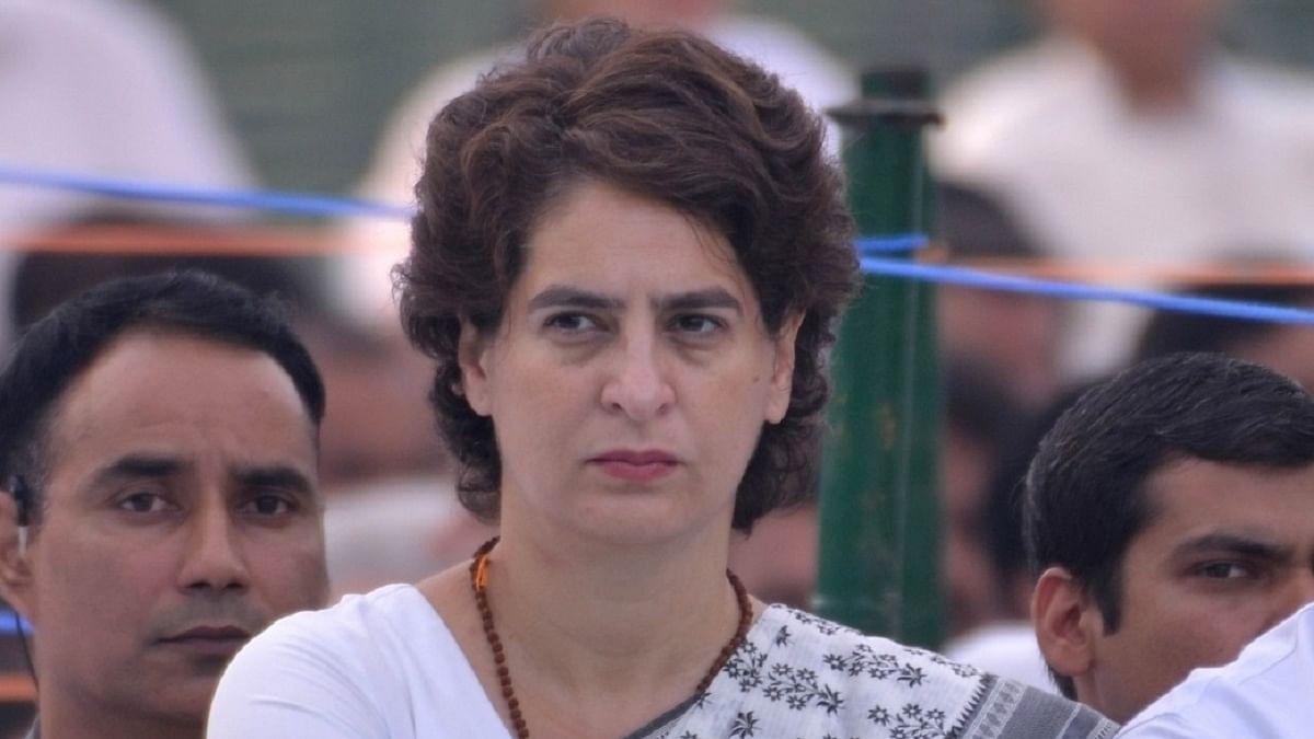 پرینکا گاندھی، تصویر آئی اے این ایس